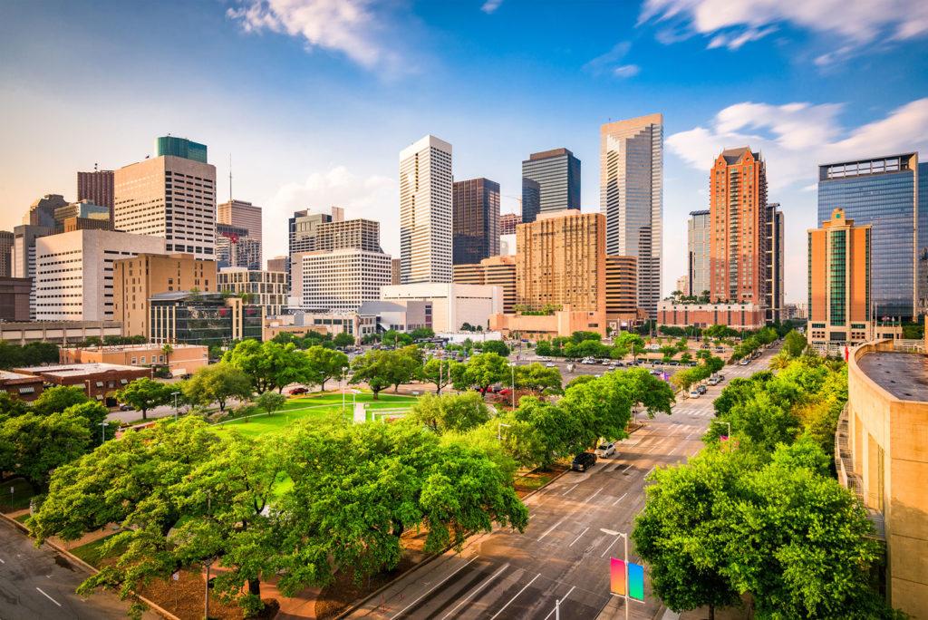 Houston, Texas city skyline